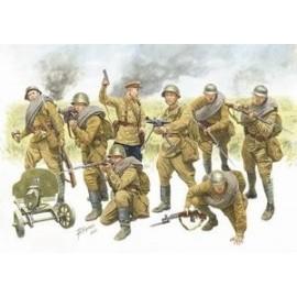 Zvezda 1/35 Red Army Infantry (1940-42)