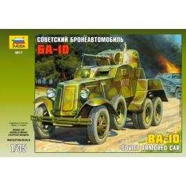 Zvezda 1/35 Soviet Armored Car Ba-10