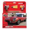 Airfix Jaguar E Type - Medium Starter Gift Set