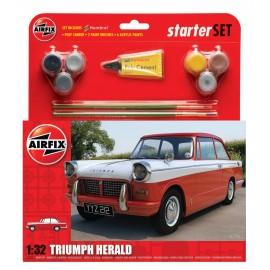 Airfix Triumph Herald - Medium Starter Gift Set