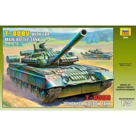 Zvezda Russian Main Battle Tank T-80BV