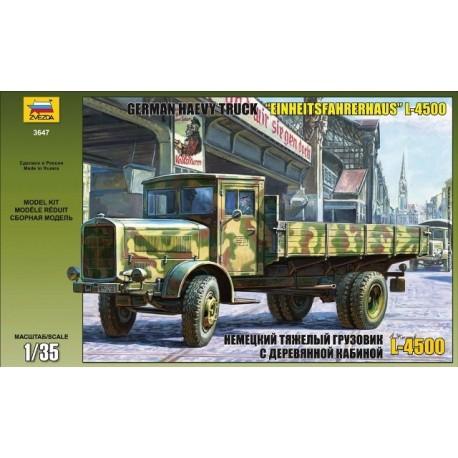 """Zvezda German Truck L-4500 """"Einheitsfahrerhaus"""""""