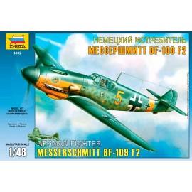 Zvezda 1/48 Bf-109 F2/F4