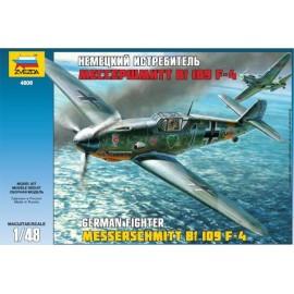 Zvezda 1/48 Messerschmitt Bf-109 F4