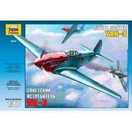 Zvezda 1/48 Yak-3 Soviet WWII Fighter