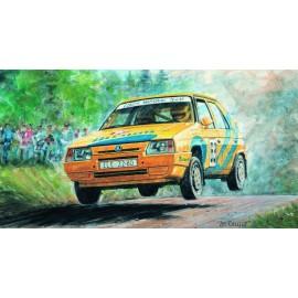 SMER Skoda Favorit Rallye 96 no glue 1/28