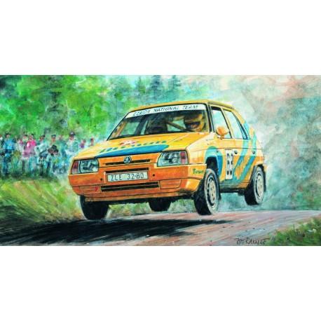 SMER Skoda Favorit Rallye 96 no glue
