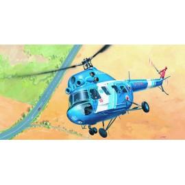SMER Helicopter Mi 2-Police no glue 1/48