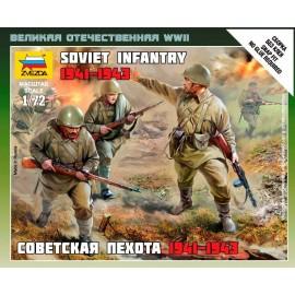 Zvezda 1/72 Soviet Infantry 1941