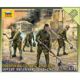 Zvezda 1/72 Soviet Engineers WWII