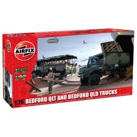 Airfix 1/76 Bedford QLD/QLT Trucks