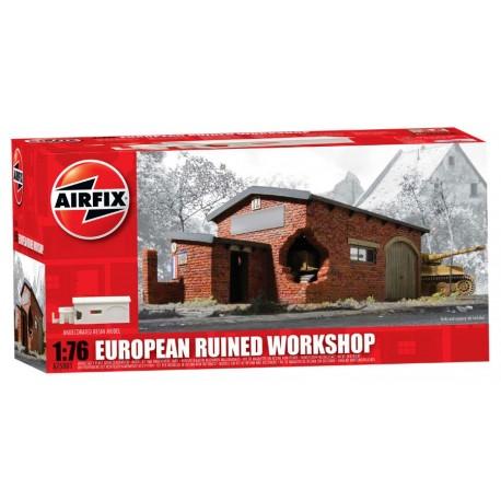 Airfix European Ruined Workshop