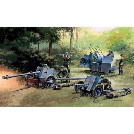 Italeri GERMAN GUNS SET: PAK35 - PAK40 - FLAK38