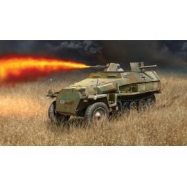 Italeri 1/72 Sd.Kfz.251/16 Flamm