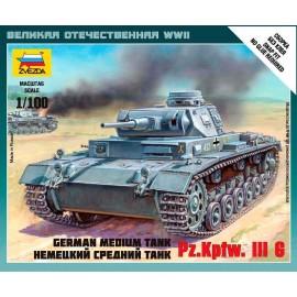 Zvezda German Tank Panzer III