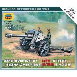 Zvezda 1/72 German Howitzer Lefh-18