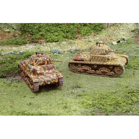 Italeri CARRO ARMATO M13/40 (2 FAST ASSEMBLY MODELS)