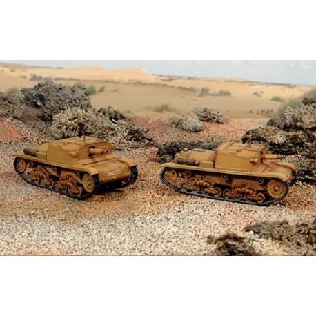 Italeri Semovente M40 da 75/18 (2 FAST ASSEMBLY MODELS)