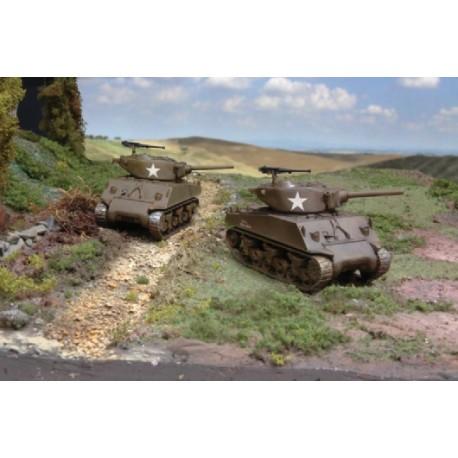 Italeri M4A3E2 Jumbo (2 FAST ASSEMBLY MODELS)