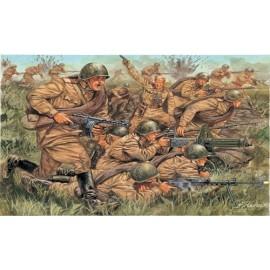 Italeri 1/72 WWII-Russian Infantry