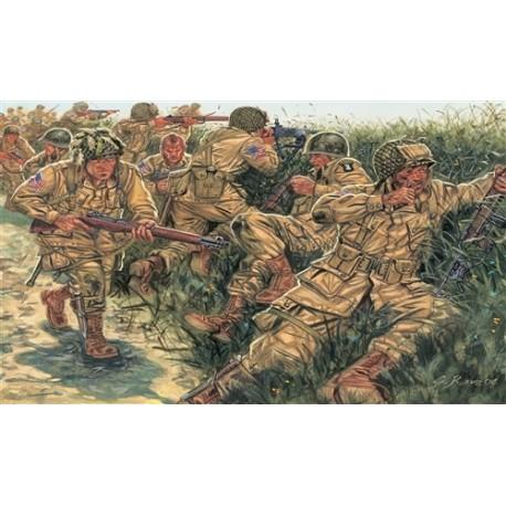 Italeri WW2 US PARATROOPERS