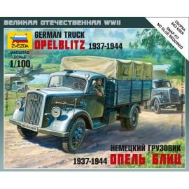 Zvezda 1/100 German 3t Truck