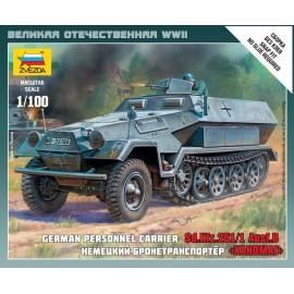 Zvezda 1/100 Sd.Kfz.251/1 Ausf.B
