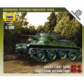 Zvezda 1/100 Soviet Tank Bt-5