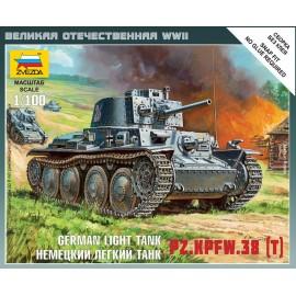 Zvezda 1/100 German 38t Tank