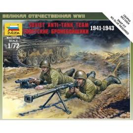 Zvezda 1/72 Soviet Anti Tank Team