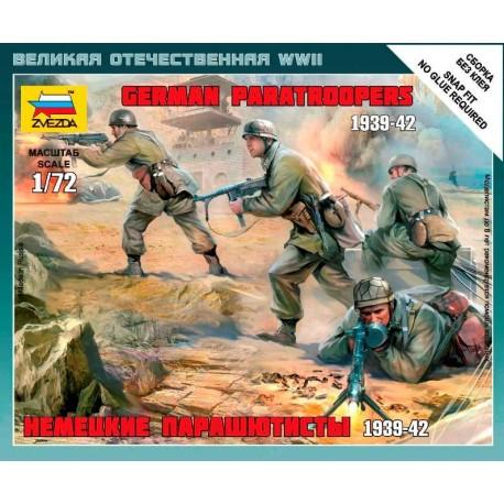 Zvezda German Paratroops WWII