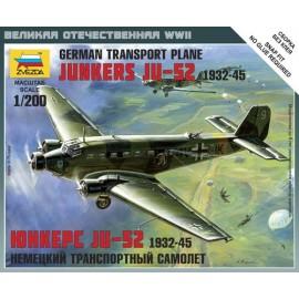 Zvezda Junkers JU-52 Transport Plane