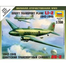 Zvezda 1/200 Li-2 Soviet Transport Plane