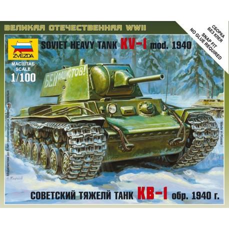 Zvezda Soviet Heavy Tank KV - 1