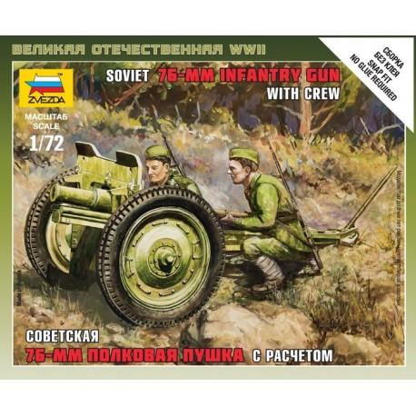 Zvezda Soviet 76 mm Gun