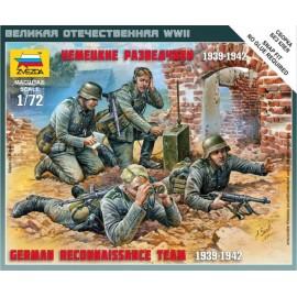 Zvezda 1/72 German Reconnaissance Team