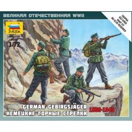 Zvezda 1/72 German Gebirgsjager