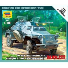 Zvezda 1/100 Sd.Kfz.222 Armored Car
