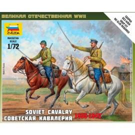 Zvezda 1/72 Soviet Cavalry
