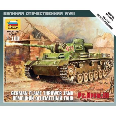 Zvezda Panzer III Flamethrower Tank