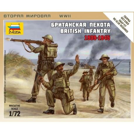 Zvezda British Infantry 1939-42