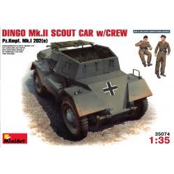 Miniart 1/35 Dingo Mk II Pz.Kpfw.202