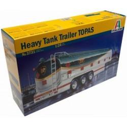 Italeri 1/24 Heavy Tank Trailer Topas