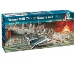 Italeri 1/35 Vosper Mtb 74 St. Nazaire Raid