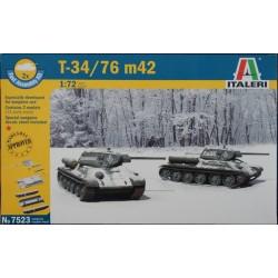 Italeri 1/72 T 34 / 76 M42 (2 Fast Assembly)