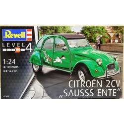 Revell 1/24 Citroen 2CV Sauss Ente