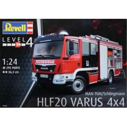 Revell 1/24 Schlingmann HFL 20 Varus 4x 4 NUOVO STAMPO