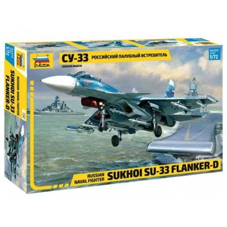 Zvezda 1/72 SU-33 Flanker