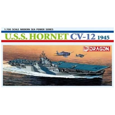 Dragon 1/700 U.S.S Hornet Cv - 12