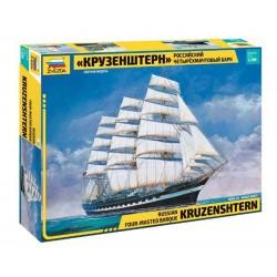 Zvezda 1/200 Krusenstern Sailing Ship